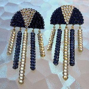 Richard Kerr Vintage Designer Swarovski Earrings